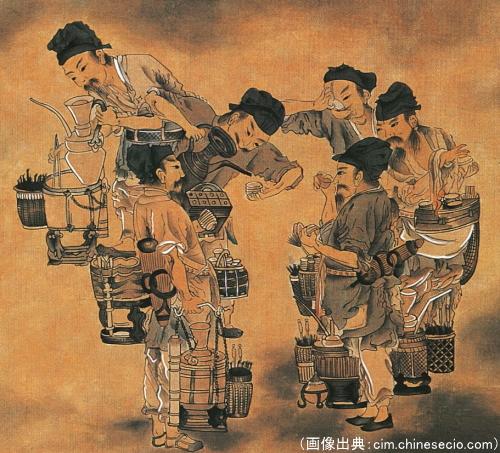 中国の闘茶