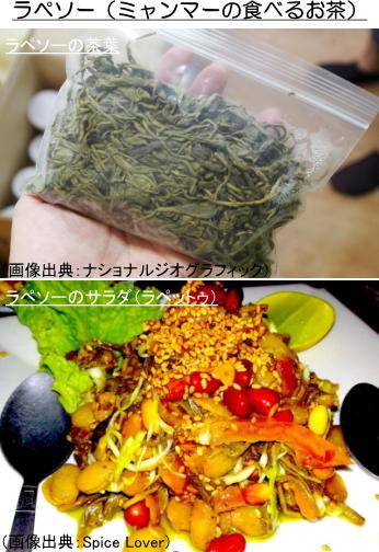 ラペソー(ミャンマーの食べるお茶)