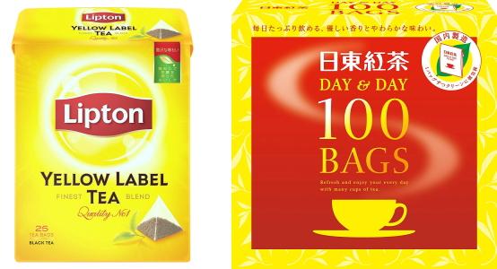 イエローラベル、日東紅茶