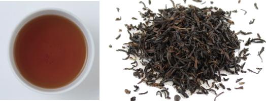 ダージリンオータムナルの茶葉&水色