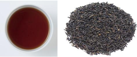 キーマンの茶葉&水色