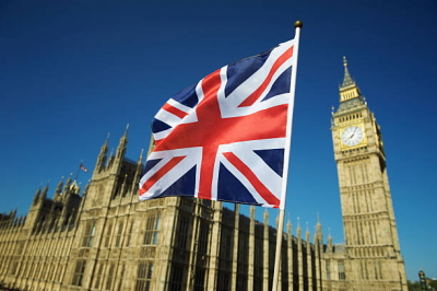 イギリス国旗とビッグベン