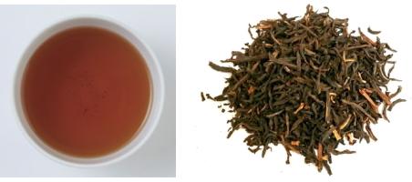 ヌワラエリアの茶葉&水色