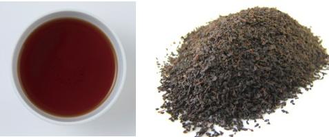ウバの茶葉&水色