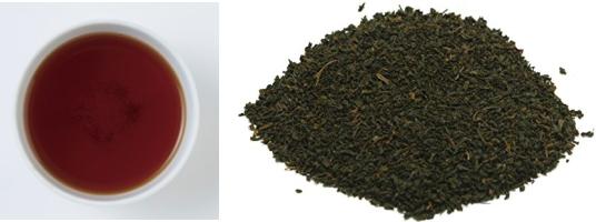ディンブラの茶葉&水色
