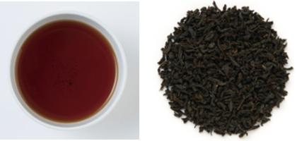 ルフナの茶葉&水色