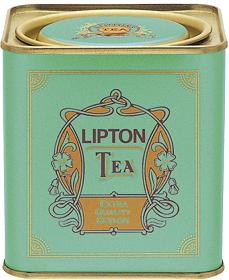 紅茶の四角い缶