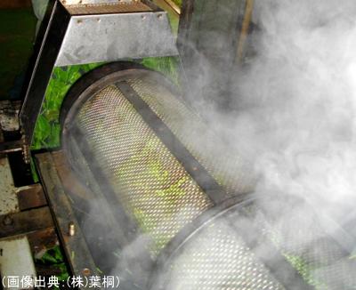 機械による蒸熱