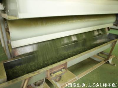機械による乾燥