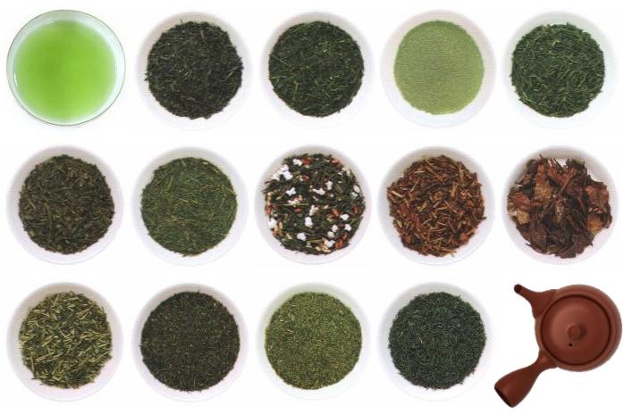 日本茶(緑茶)の種類