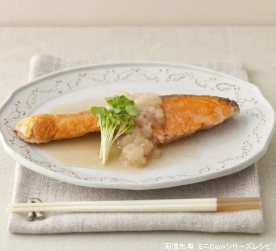 鮭のウーロン茶煮