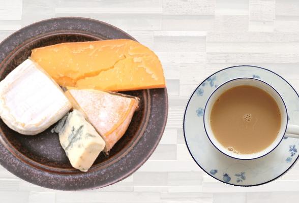 ミルクティーとチーズ