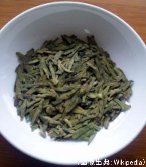 中国緑茶(西湖龍井茶)の茶葉