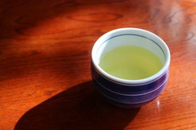 美味しそうな緑茶