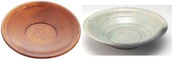 木製、陶器の茶托