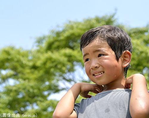 高温多湿で不快な日本の夏