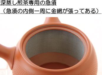 深蒸し煎茶専用の急須