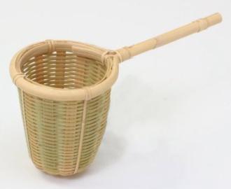 竹製の茶こし