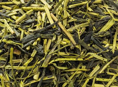 茎茶のアップ