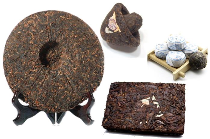 様々な中国黒茶