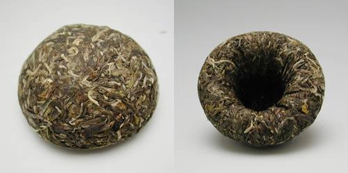 雲南省産の沱茶