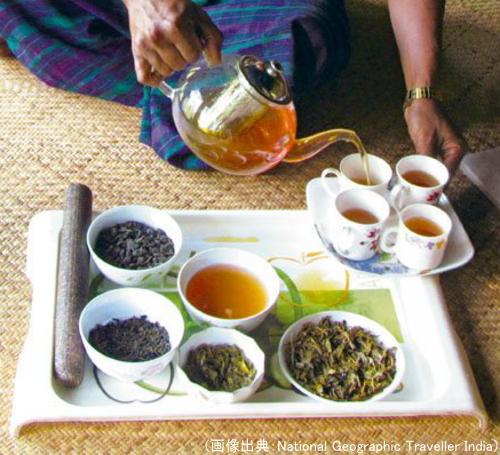 シンポー族の紅茶