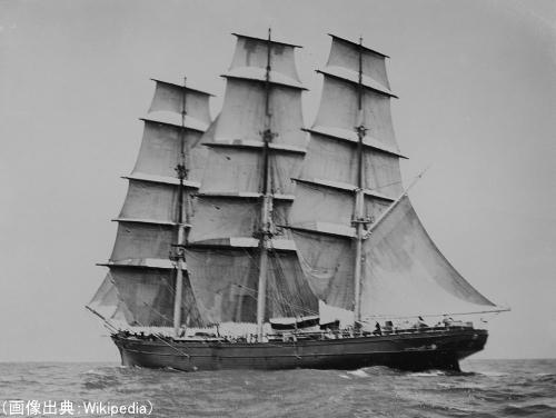 カティーサーク号(ティークリッパーレースのために造られた快速帆船)