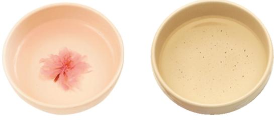 桜湯、香煎
