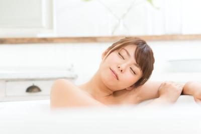 入浴でリラックス